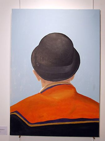Orangeman wearing Bowler hat by victorias