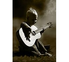 Toddler Tunes... Photographic Print