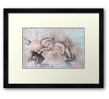 Bouquet Of Blessings Framed Print