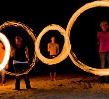 Rings of fire by Viv van der Holst