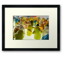 Shakin it up! Framed Print