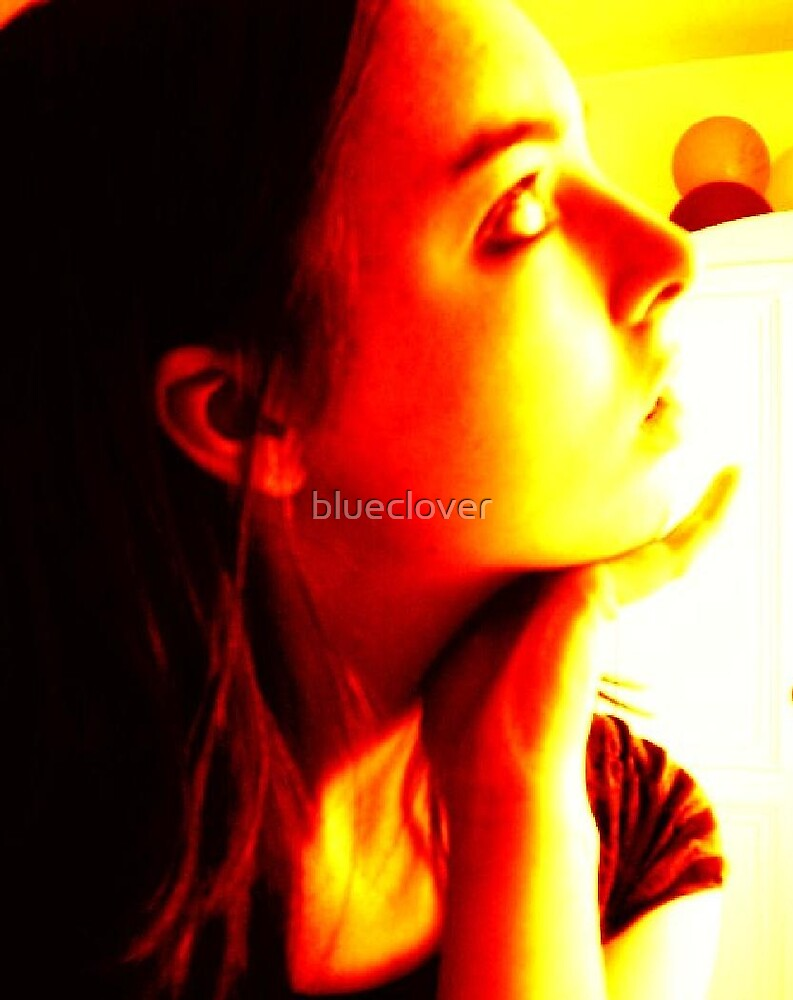 Self Portrait in yellow tone by blueclover