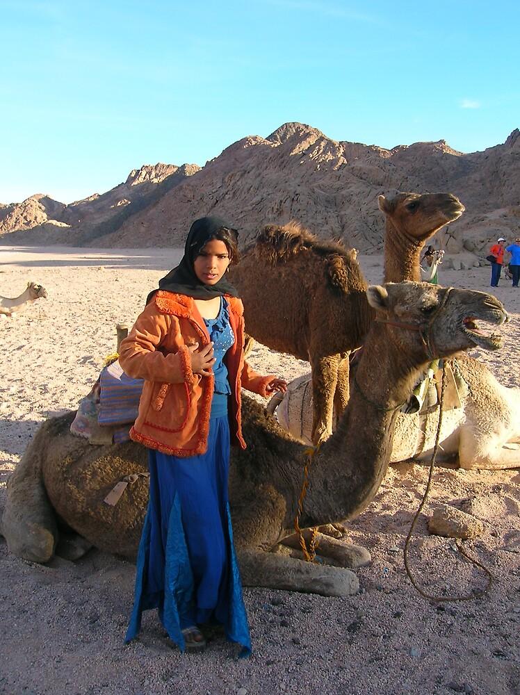 Sara of the Sinai by mariejoubert