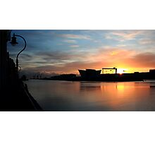 Harland & Wolff Dawn Photographic Print