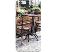 walkside cafe iPhone Case/Skin