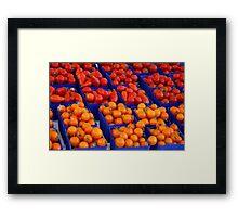 """Market"" Framed Print"