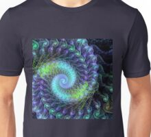 Abstract colourful swirl Unisex T-Shirt