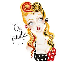 Oh Puddin'! Photographic Print