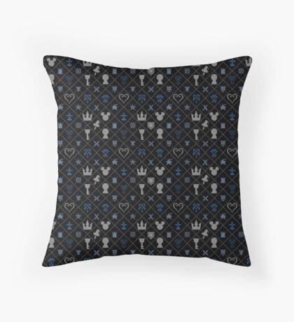 KH pattern Throw Pillow