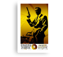 Goldfinger Canvas Print