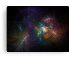 Colorful fractal background Canvas Print