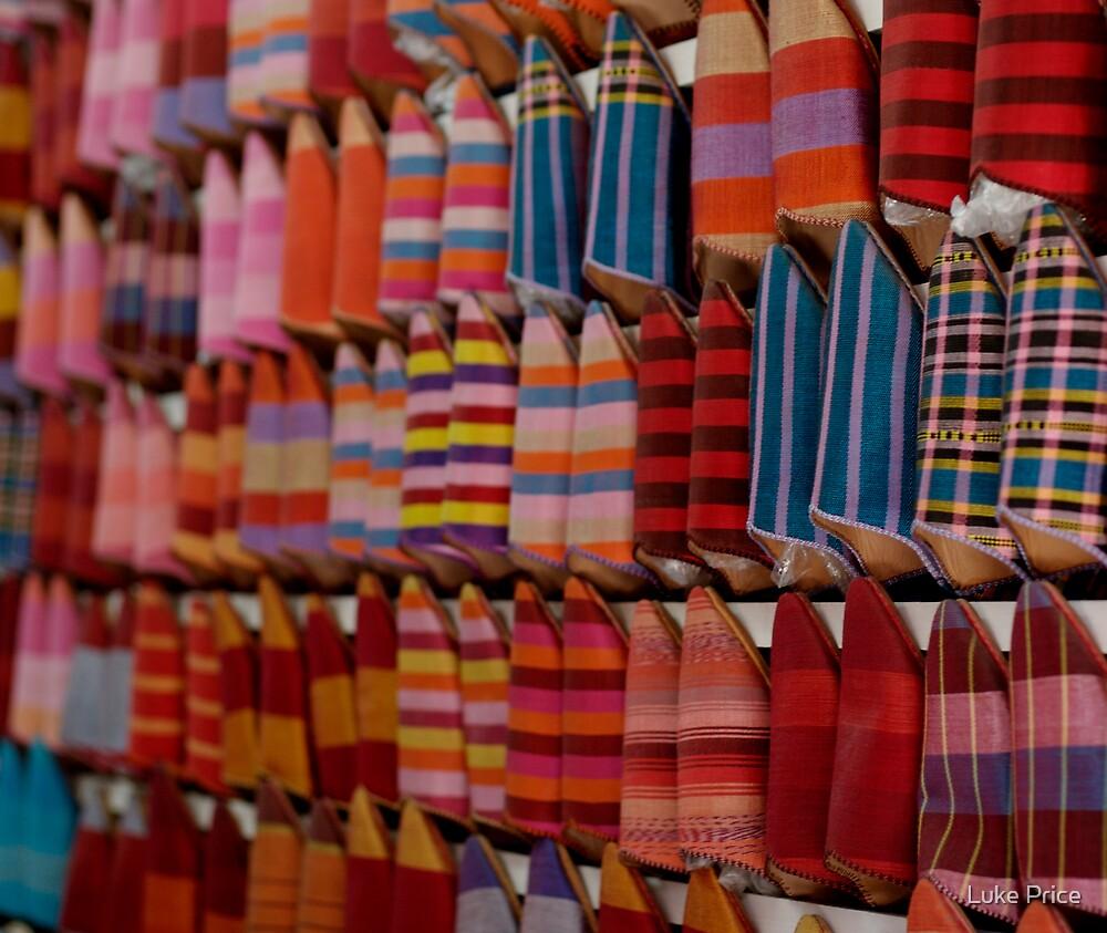 Shoe Souk - Marrakech by Luke Price