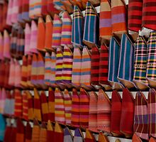 Shoe Souk - Marrakech by Luke Price