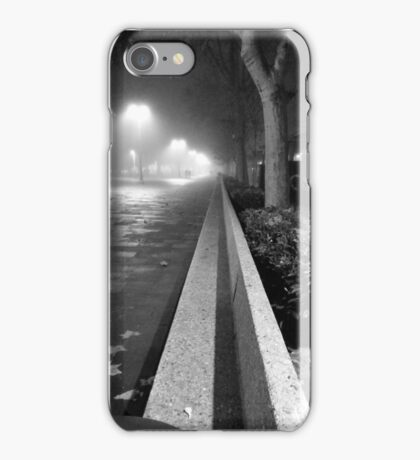 Palencia B&W iPhone Case/Skin