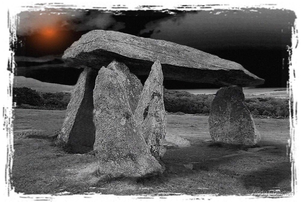 Pentre Ifan Burial Chamber, Pembrokeshire by Andy Coleman