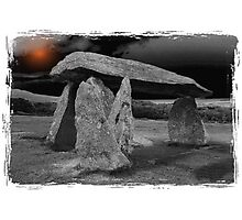 Pentre Ifan Burial Chamber, Pembrokeshire Photographic Print