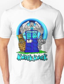 Doctor Who Knock Knock on the Tardis T-Shirt