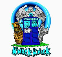 Doctor Who Knock Knock on the Tardis Unisex T-Shirt