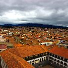 Rooftops Of Cuenca IV by Al Bourassa