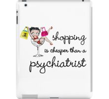shopping is psychological iPad Case/Skin
