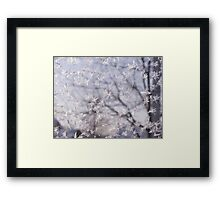 Frosted glass 3 Framed Print