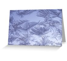 Frosted glass 4 Greeting Card