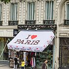 I Love Paris by Elaine Teague