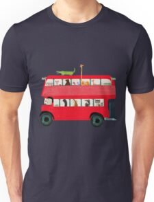 the big red bus Unisex T-Shirt