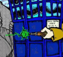 Doctor Who versus Enemies Sticker