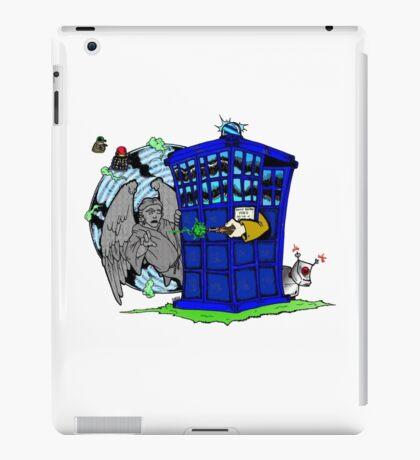 Doctor Who versus Enemies iPad Case/Skin