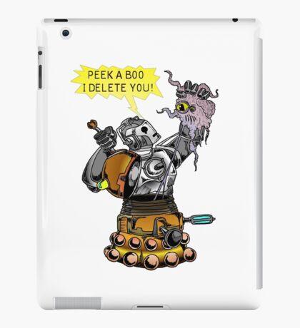 Cyber vs Dalek iPad Case/Skin