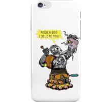 Cyber vs Dalek iPhone Case/Skin