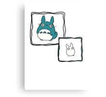 Little Totoro Metal Print