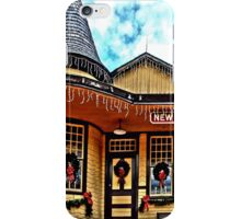 Christmas at New Hope Station iPhone Case/Skin