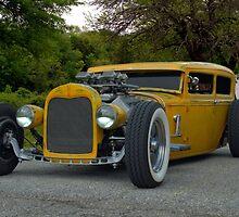 1931 Ford Model A Sedan Rat Rod by TeeMack