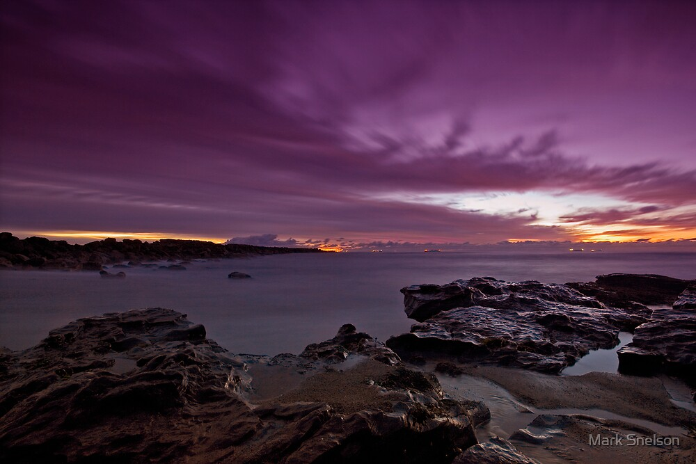 Spoon Rocks Beach 3 by Mark Snelson
