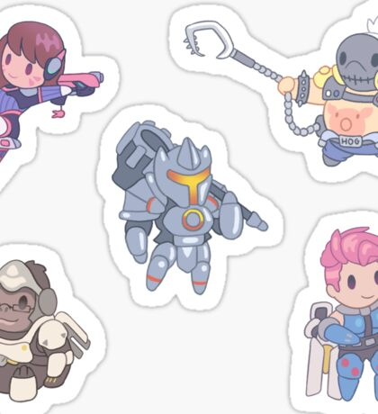 Overwatch Tank Stickers Sticker