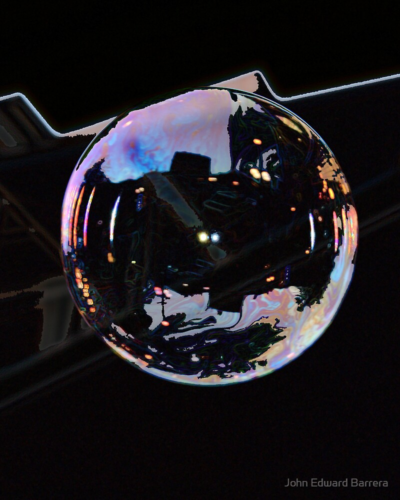 Time Trapped in a Bubble by John Edward Barrera