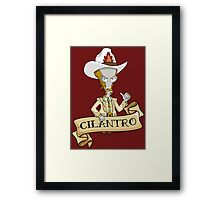 Roy Rogers McFreely - Cilantro Framed Print