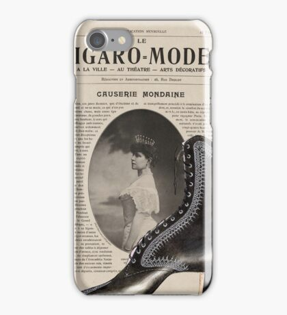 Figaro Modes Collage iPhone Case/Skin