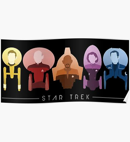 Star Trek - The Captains Poster
