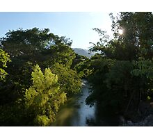 nature's lighting II - iluminación de la naturaleza Photographic Print