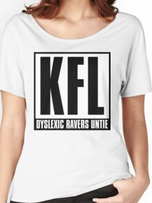 KFL - Dyslexic Ravers Untie Women's Relaxed Fit T-Shirt