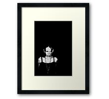 Dark Flake Framed Print