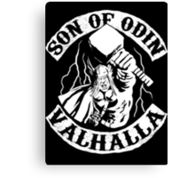 Son Of Odin Canvas Print