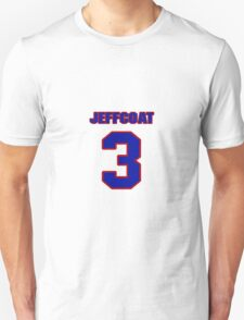 National baseball player Hal Jeffcoat jersey 3 T-Shirt