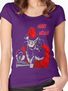 Merry Mixmas Women's Fitted Scoop T-Shirt