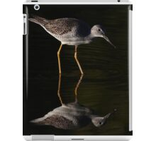 Greater Yellowlegs Reflects iPad Case/Skin