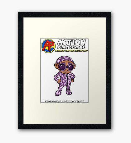APCrew - Parker Framed Print