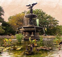 Bethesda Fountain by AvalonCreations